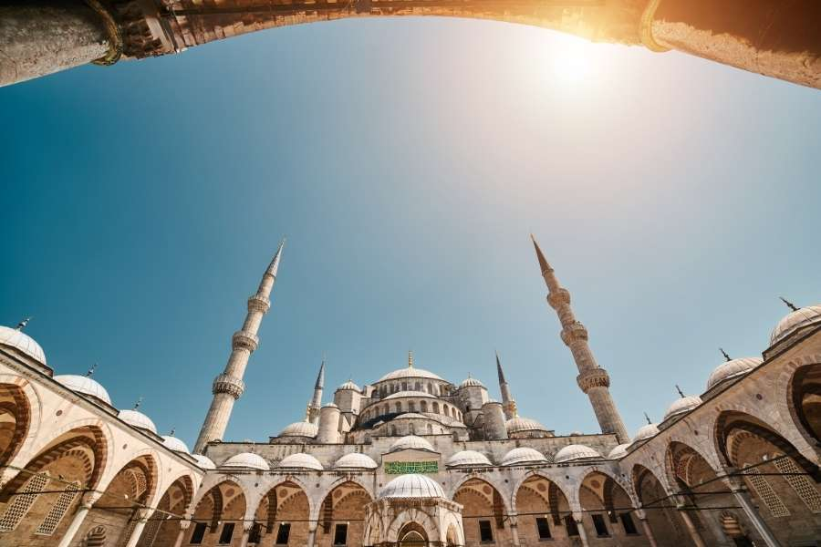 Istanbul mosques blue mosque