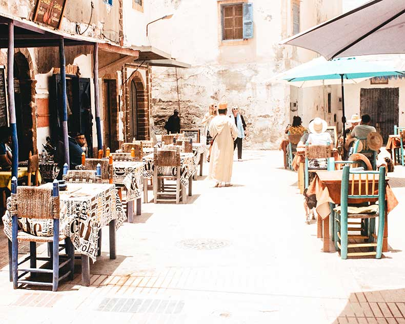 Open a restaurant business in Morocco