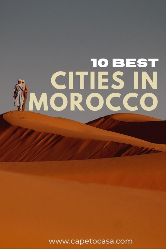 best cities in Morocco pin
