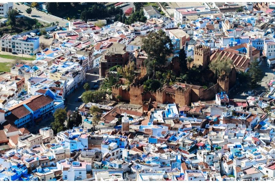 best cities in morocco chefchaouen city