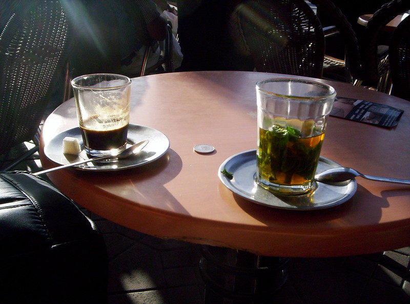 coffee and tea in Morocco