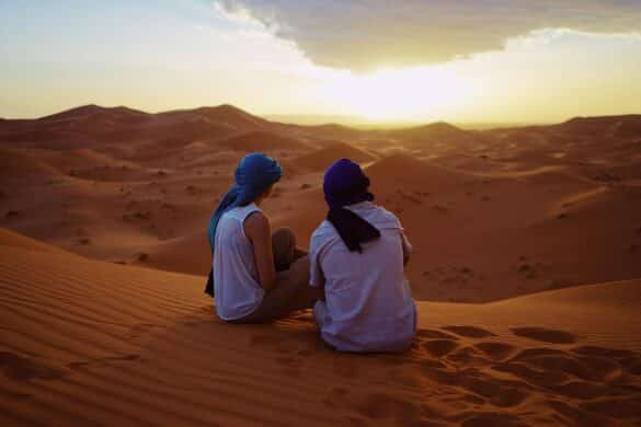 backpacking in Morocco