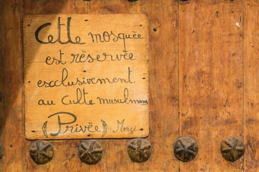 language in morocco french