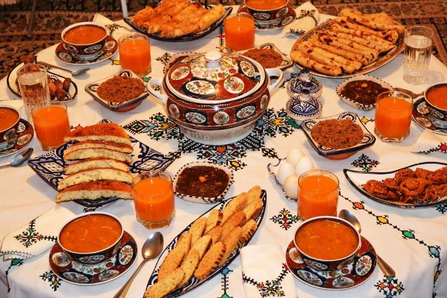 food in morocco