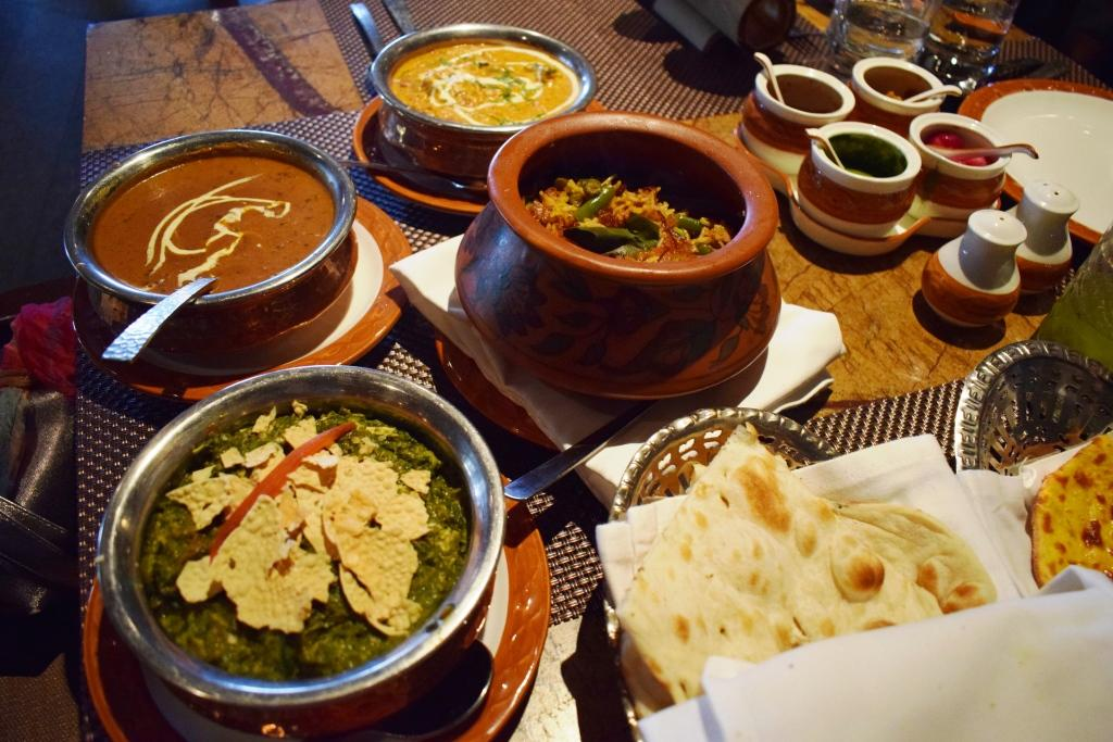 Indian spread at Baluchi, The LaLit New Delhi