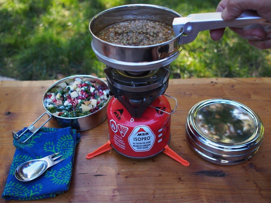 Backpacking essential items- Stove