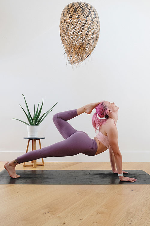 How to stay fit at home: Yoga