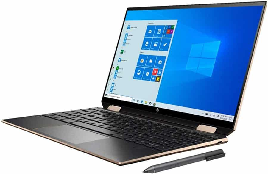 best laptop for bloggers: Hp Spectre