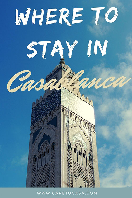 where to stay in casablanca pin