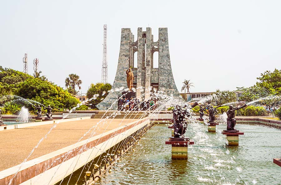 Kwame Nkrumah National Park in Accra