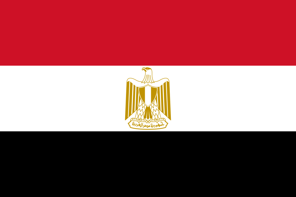Egypt flag description and meaning