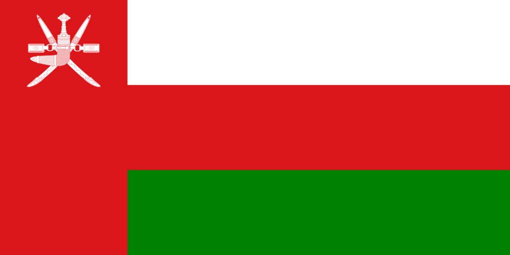 Oman flag description and meaning