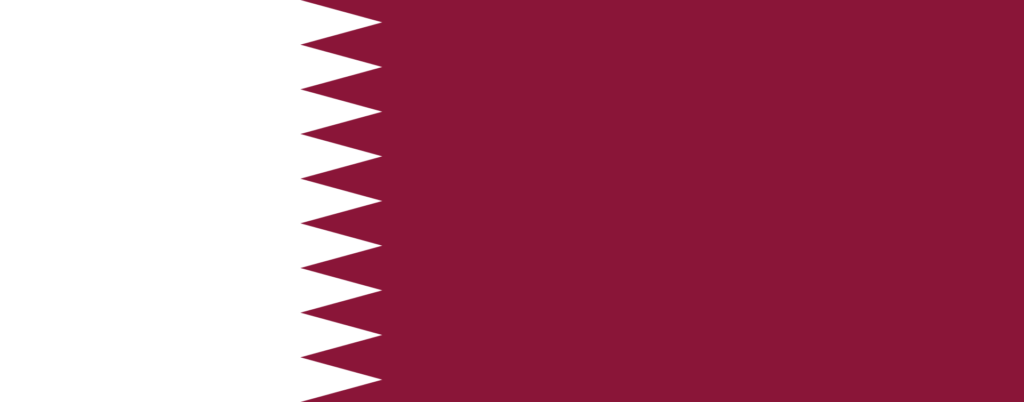Qatar flag description and meaning