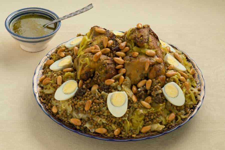 food in morocco Rfissa