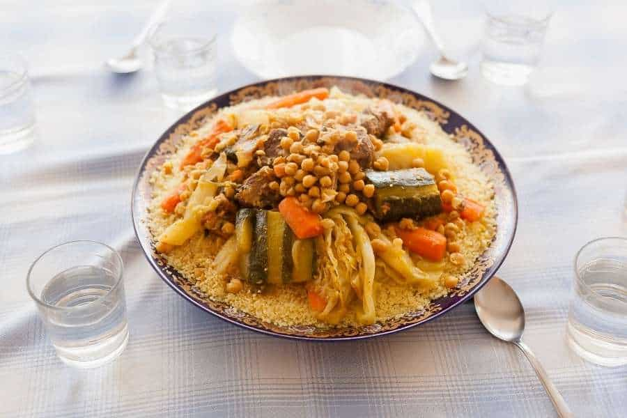 food in morocco moroccan couscous