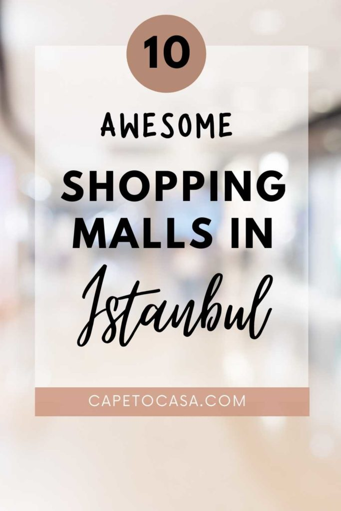 shopping malls in Istanbul