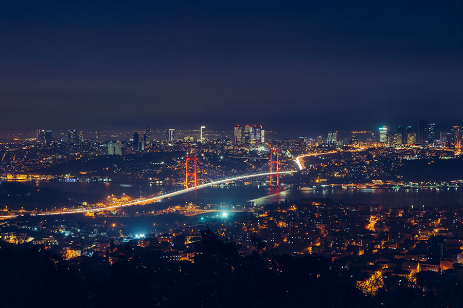 things to do in Istanbul Turkey at night