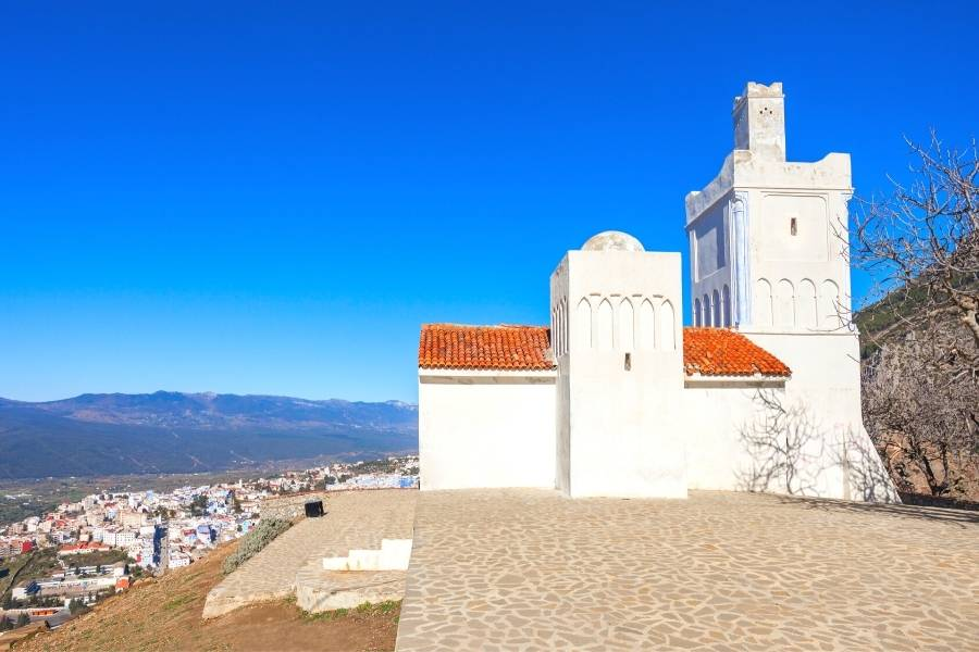chefchaouen Morocco spanish mosque