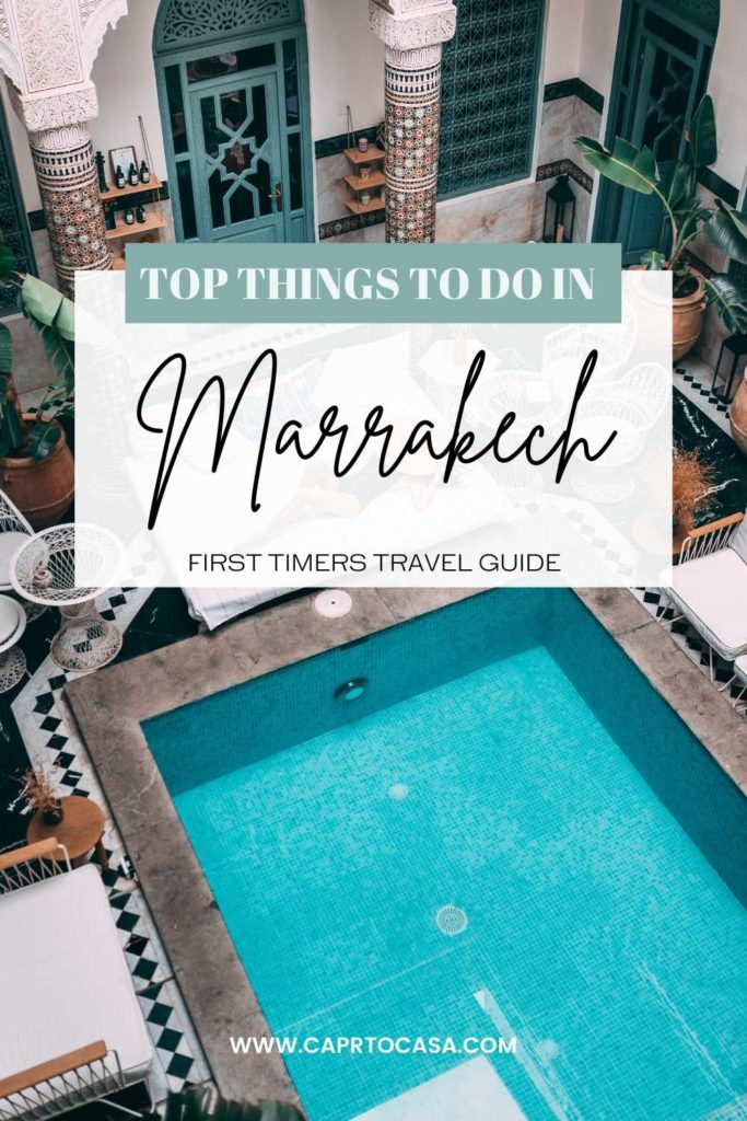 marrakech morocco top things to do
