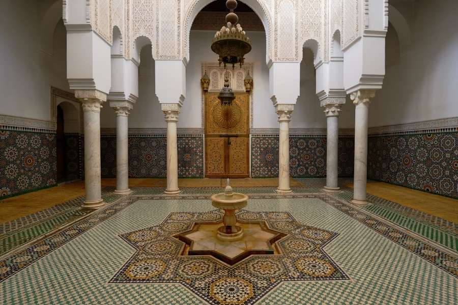 meknes morocco Mausoleum of Moulay Ismail