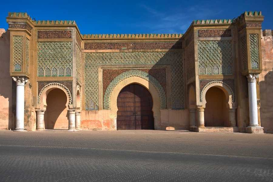 meknes morocco bab mansour