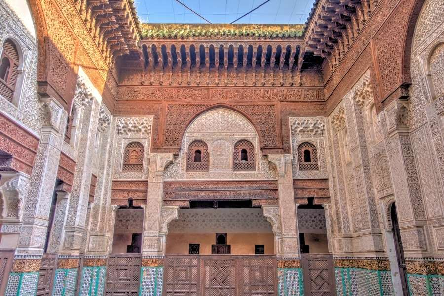 meknes morocco madrasa bou anania