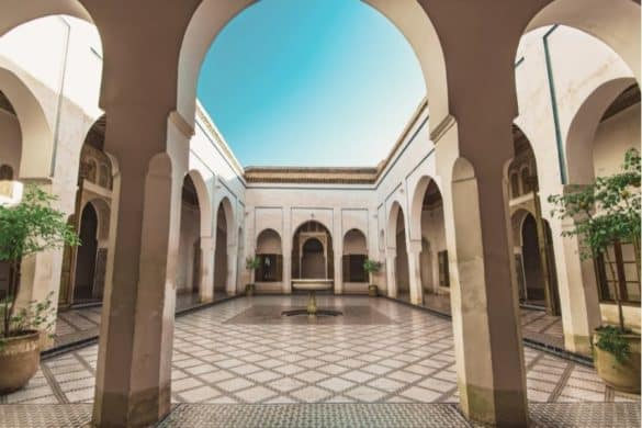 palaces in Morocco marrakech and fez