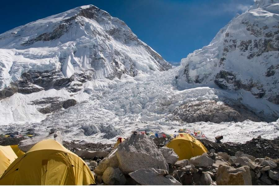 best hiking trails in the world Everest Base Camp, Nepal