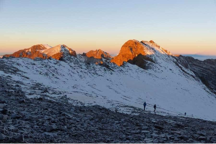 best hiking trails in the world Mount Toubkal, Morocco
