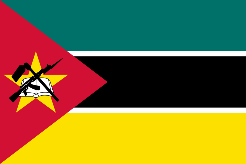 African flags_Mozambique