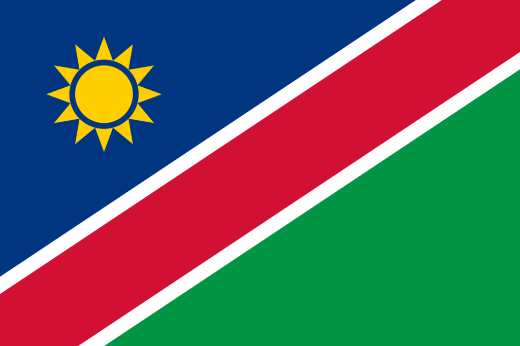 African flags_Namibia